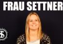 Im Fragenhagel: Frau Settner