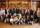 Bürgermeister Lutz Urbach empfing US-amerikanischer Gastschülergruppe