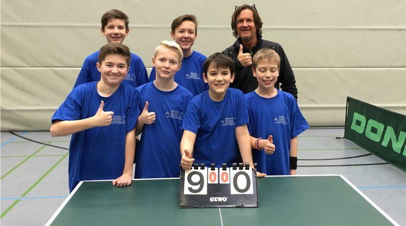 Beflügelnde Erfolge im Tischtennis auf Bezirksebene