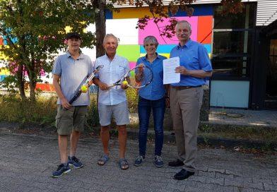 Neue Kooperation mit dem Tennis-Verein