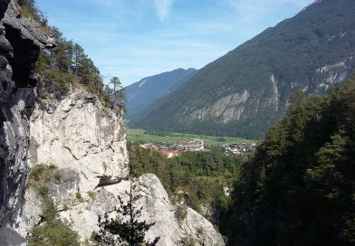 Kursfahrt ins Outdoor-Eldorado nach Imst 2018