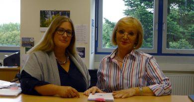 Frau Brochhagen geht in den Ruhestand