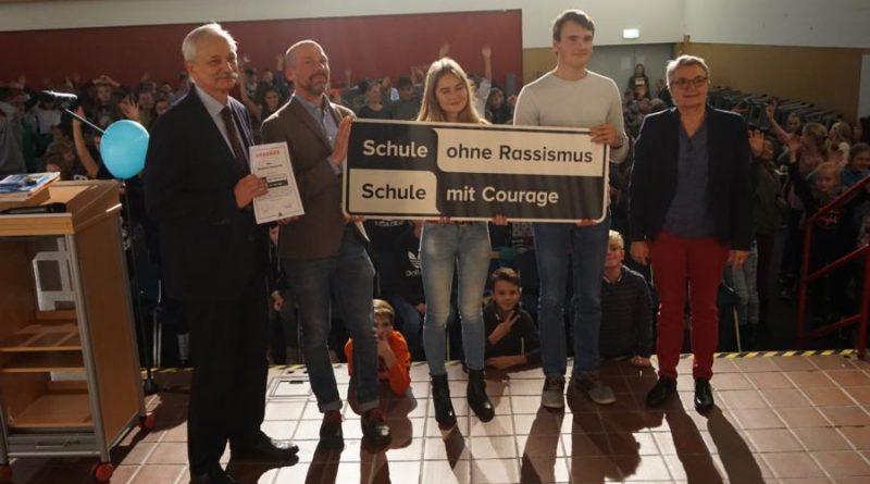 """GyH als Teil von """"Schule ohne Rassismus"""""""