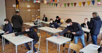 Selbsttestzentrum für Abiturienten, auch am Wochenende